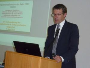 """Univ. Prof. Dr. Alexander Rosenkranz: """"In der Steiermark gibt es 750 Dialyse-Patienten"""""""